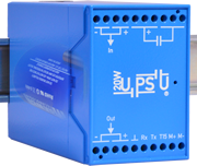 20W UPSU - Maintenance-free DIN-Rail UPS based on Ultracapacitors / Supercapacitors