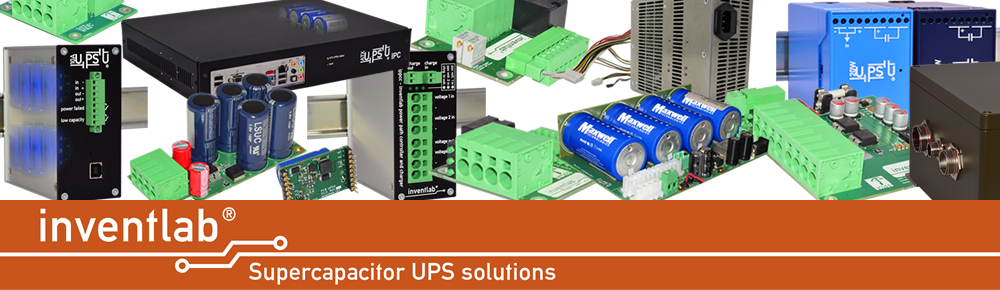 Product picture of Supercapacitor UPS solutions of inventlab GmbH, the Supercapacitor Experts
